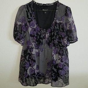 3 for $12- PL petites large blouse